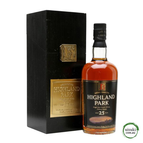 b97687a637b Highland Park 25 Year Old Single Malt Scotch Whisky 700ml 50.7% (2004  Bottling)